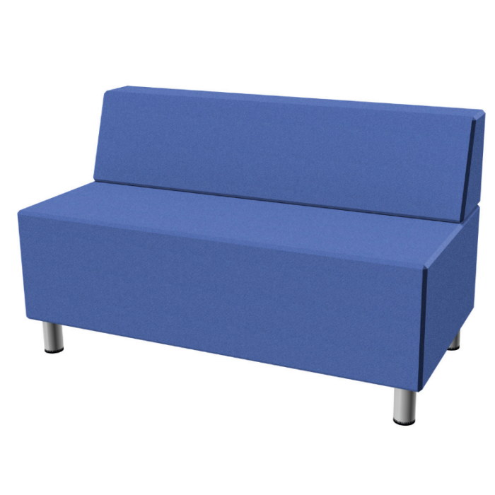Relax Small Rectangular Sofa with Seat Back by HABA