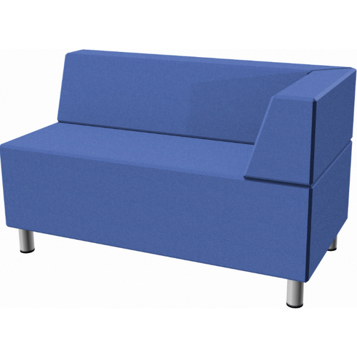 Relax Small Rectangular Sofa with Right Corner Seat by HABA