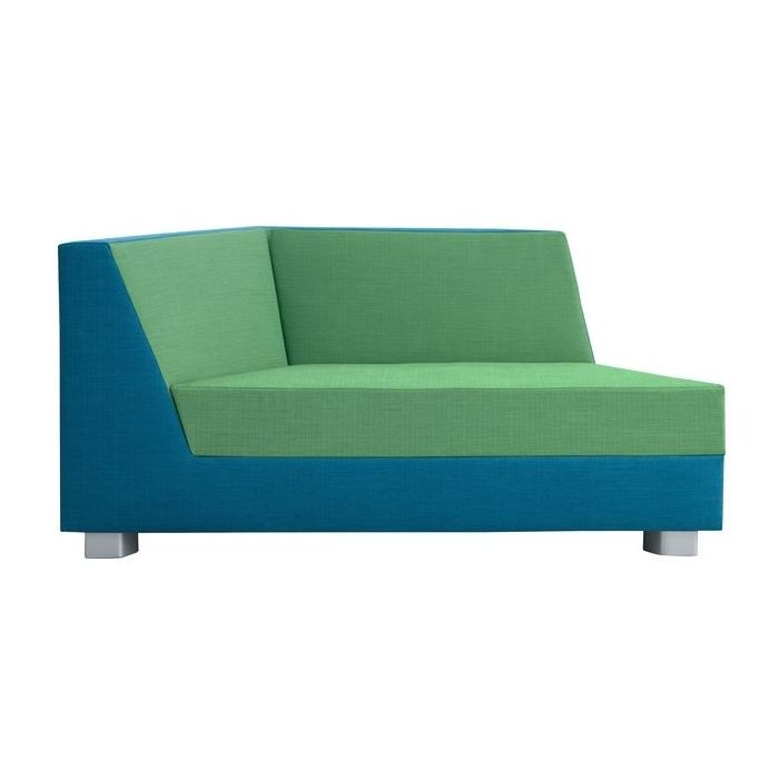 Trapezzio Young Adult Sofa w/ 1 Armrest by HABA