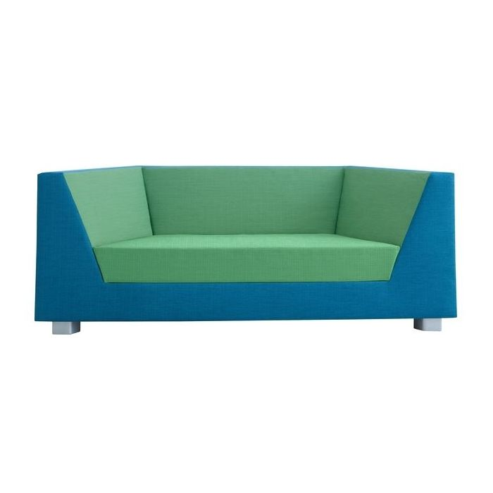 Trapezzio Young Adult Sofa w/ 2 Armrests by HABA