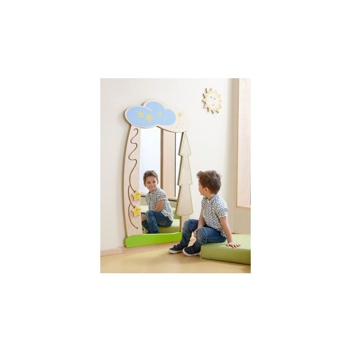 Starry Forest Interactive Wall Mirror by HABA