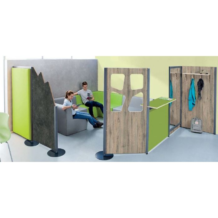Coolwall Partition & Coat Rack Combination by HABA