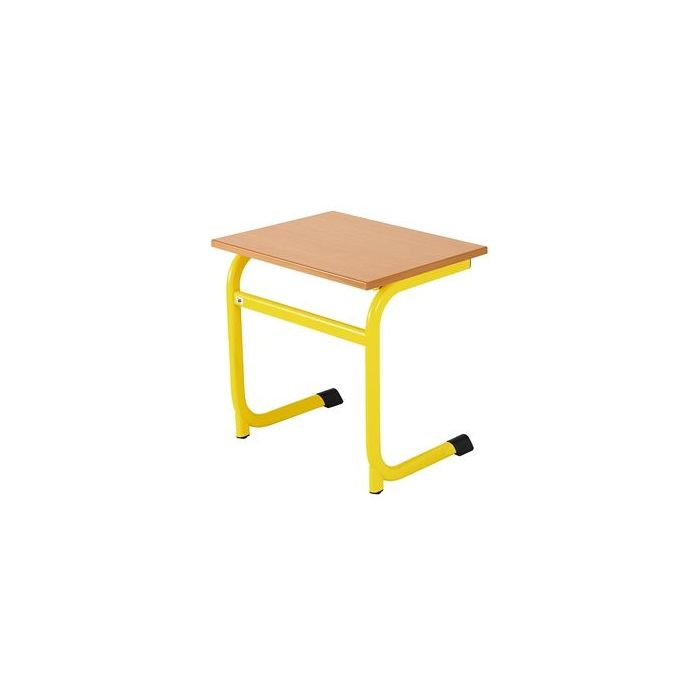 Ratio Single Skid Desk w/o Wire Basket by HABA, 176120*