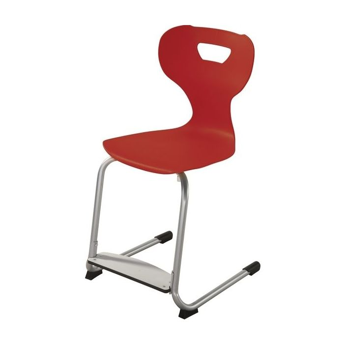 solit:sit® Height-Adjustable Plastic Chairs w/ Adjustable Footrest by HABA