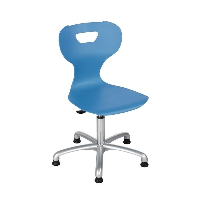 solit:sit® Height-Adjustable Plastic Swivel Chairs by HABA
