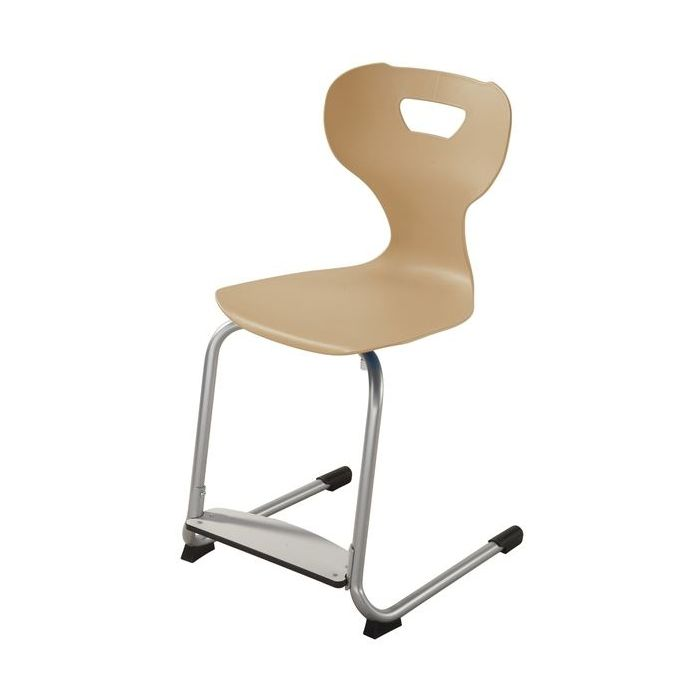 solit:sit® Height-Adjustable Wood Chairs w/ Adjustable Footrest by HABA