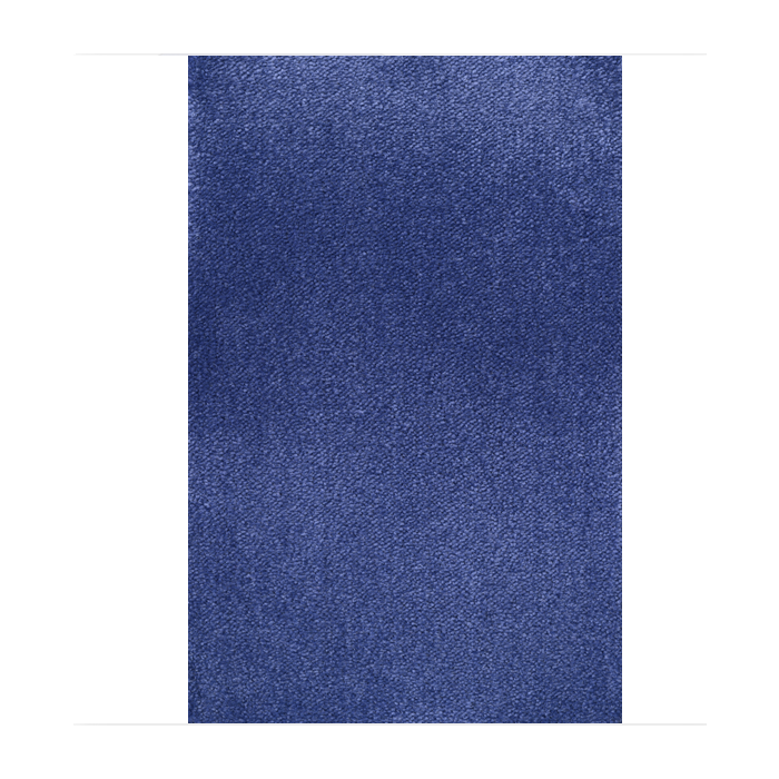 Rectangle Sea Blue Carpet by HABA