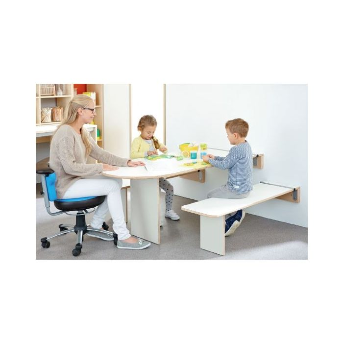 Folding Wall Tables and Benches by HABA