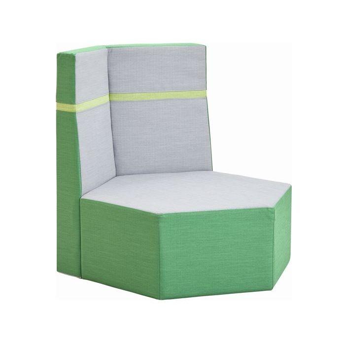 Grow.upp Hexagon Seat w/ 2 Backrests by HABA
