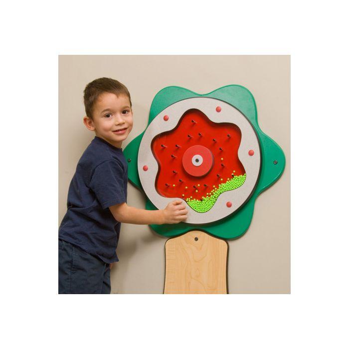 Children's Furniture Company® Green Plinko Flower Activity