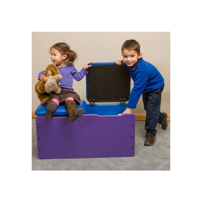 Children's Furniture Company® Toy Box Double-Seat Chest by Gressco