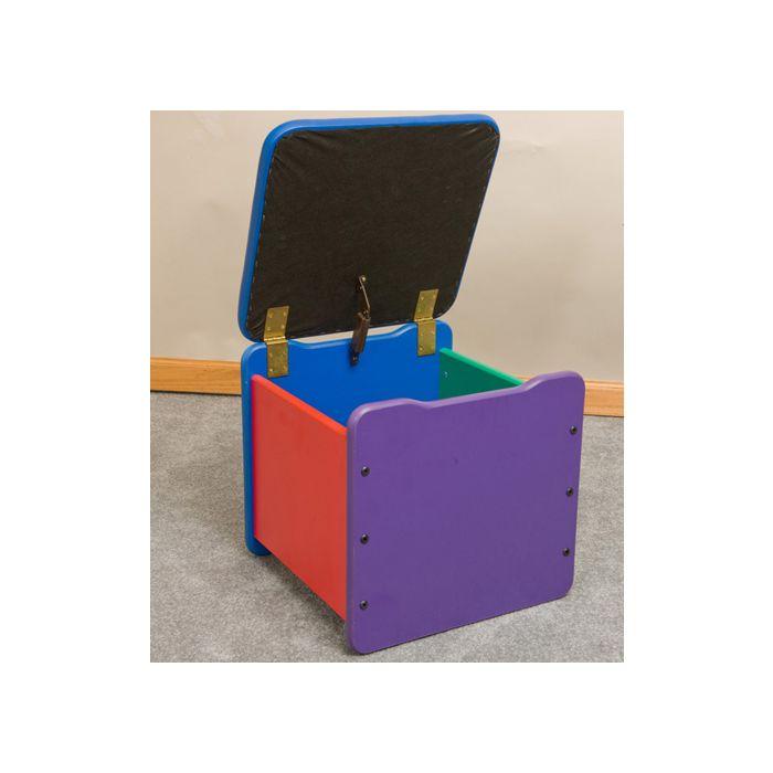Children's Furniture Company® Toy Box Single-Seat Chest by Gressco