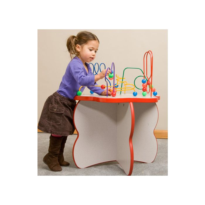 Flower Shaped Wire & Beads Activity Table