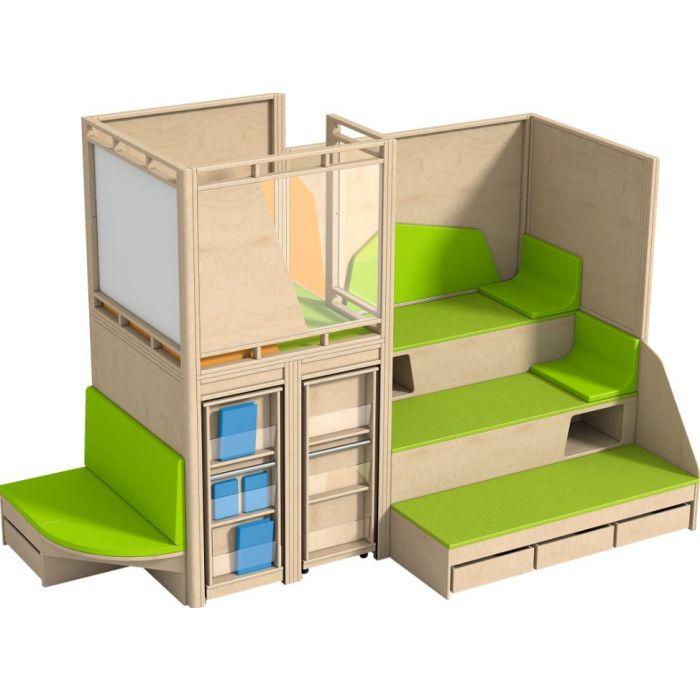 Gemino+ Corner Loft by HABA