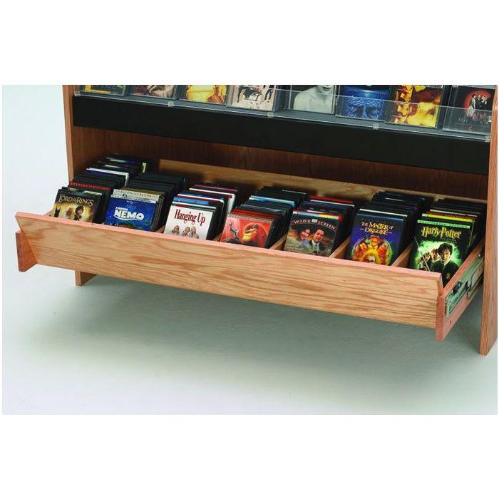 MAR-LINE® Waterfall Cd/ DVD Storage Drawer by Gressco