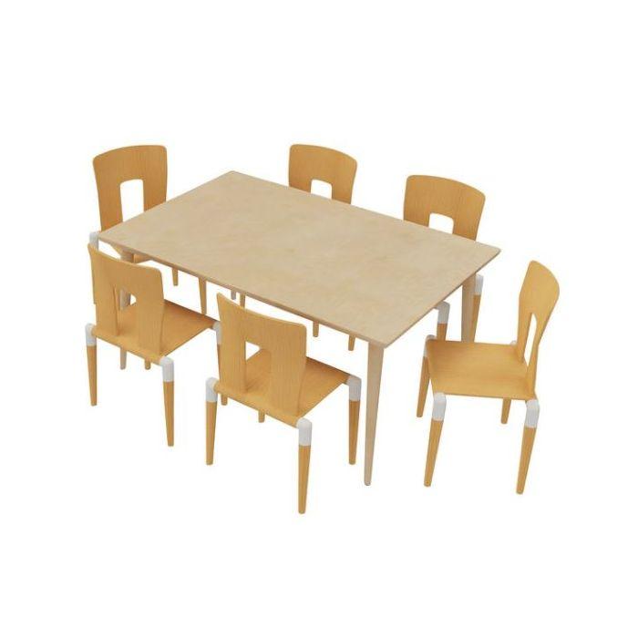 Chair & Table Combo 9 - Kindergarten by HABA, 341269 & 341270
