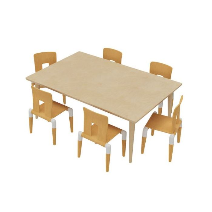 Chair & Table Combo 9 - Toddler by HABA, 341271 & 341272