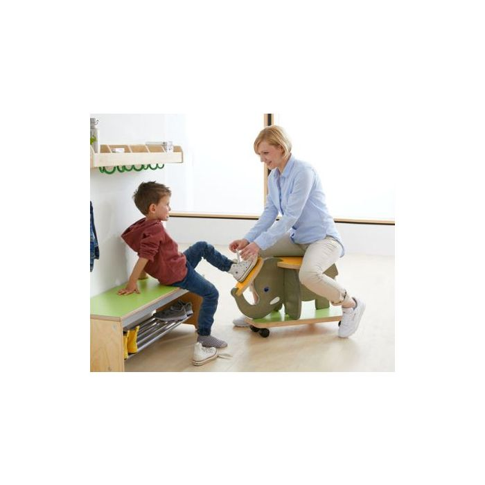 Elephant Stool on Rollers by HABA, 341273