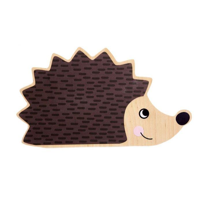 Hedgehog Mirror Applique by HABA, 370170