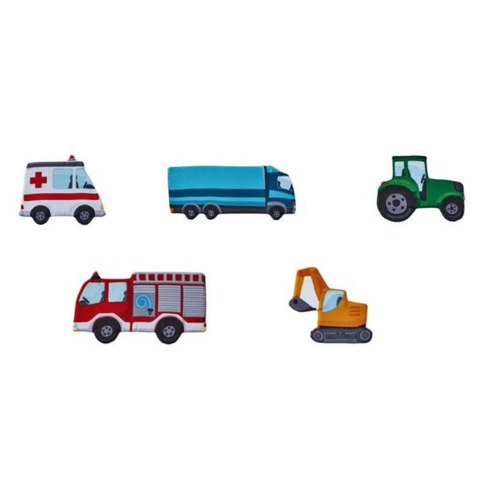Vehicles Magnetic Cloth Elements by HABA, 370171