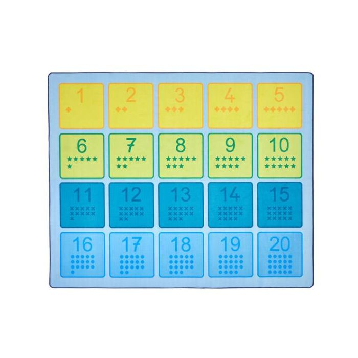 Numbers Square Carpet by HABA, 379243