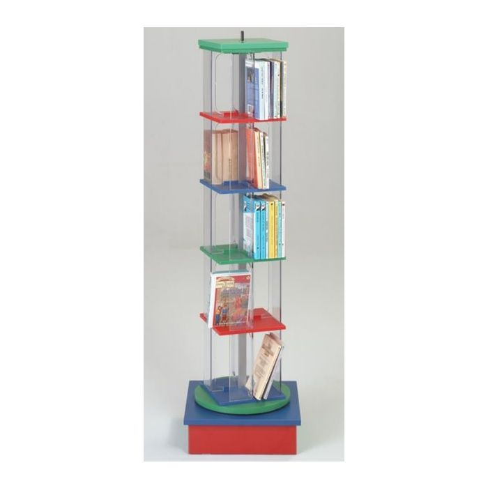 MAR-LINE® Junior Single-Tower Rotor with Low Rainbow Base Display by Gressco