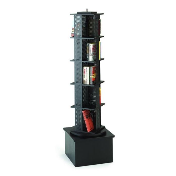 MAR-LINE® Single Metal Rotor Book & Media Spinner Display by Gressco