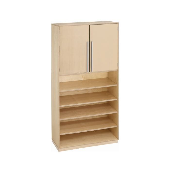 Move Upp Tall Cabinet w/ Double Doors & 6 Shelves by HABA