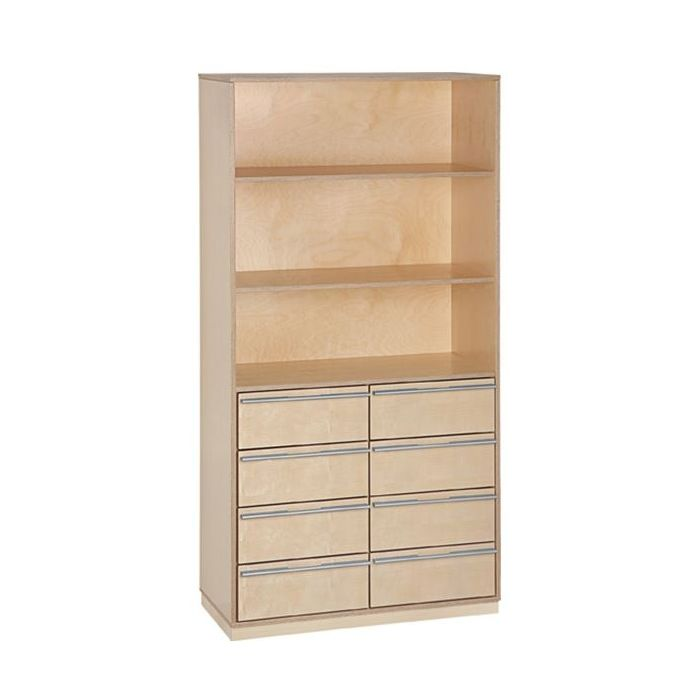 Move Upp Tall Cabinet w/ 8 Drawers by HABA