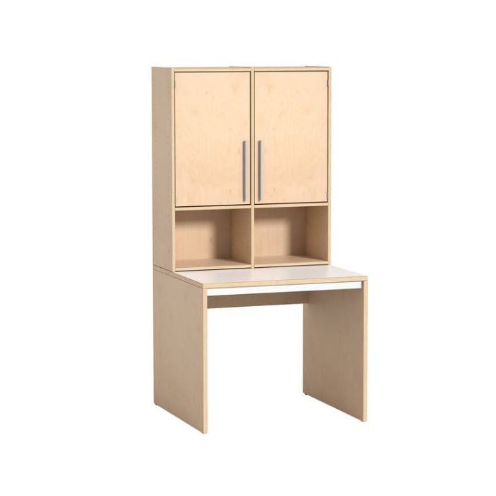 Rudolfo Cabinet w/2 Doors & Desk by HABA, 431233*