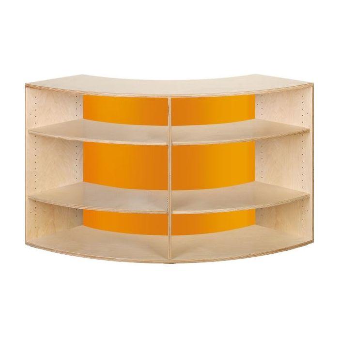 Move Upp Quadrant Cabinet w/ Acrylic Inside Radius by HABA