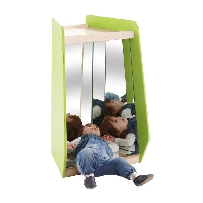 Grow.upp Narrow Trapezoid Cabinet w/ Safety Mirrors by HABA