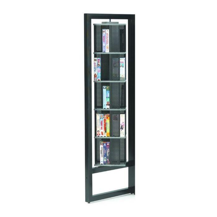 MAR-LINE® Titan Steel Add-on Unit Book and Media Display by Gressco