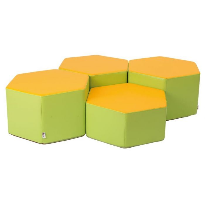 Honeycomb Soft Seating Set by Gressco, 4640616
