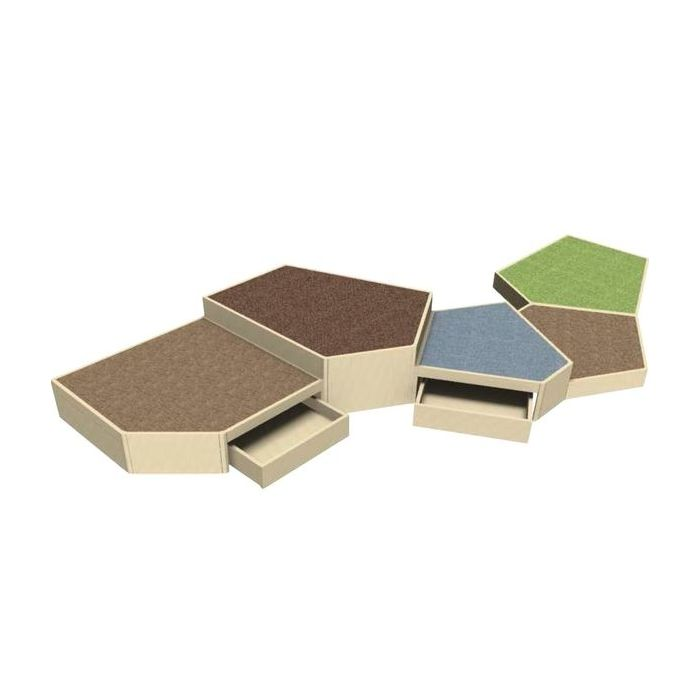 Grow.upp Tretford Carpet Platform Combination Preschool 2