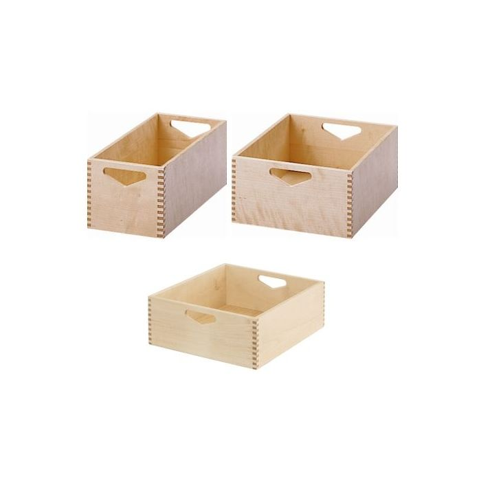 Move Upp Wooden Material Bins by HABA
