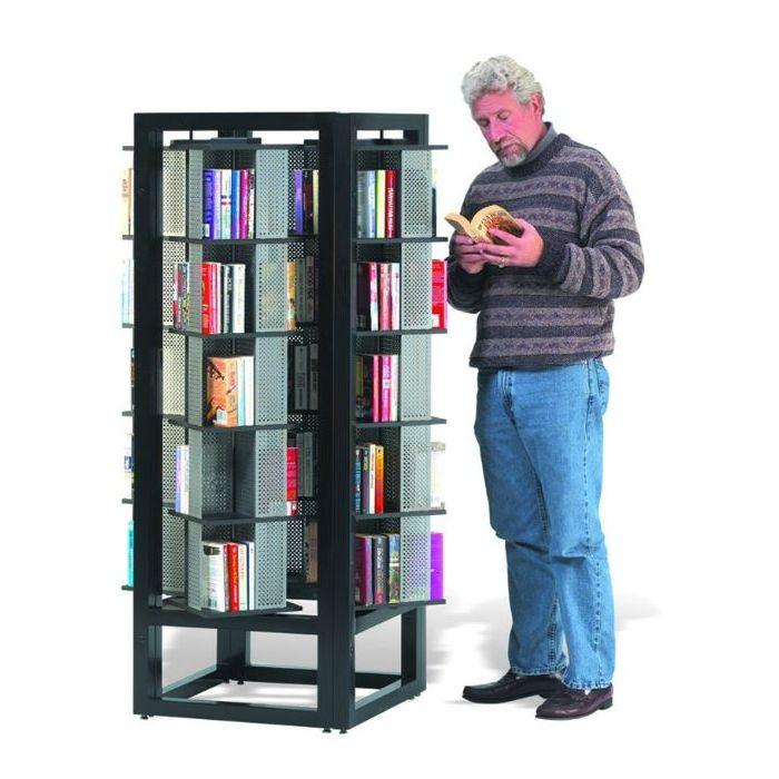 MAR-LINE® Titan Square Book & Media Display by Gressco