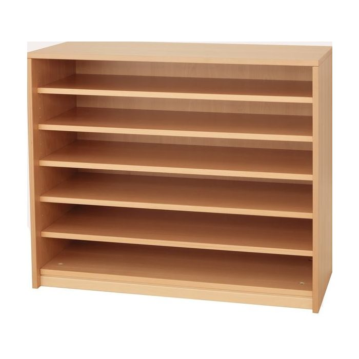 Forminant Wide 5 Shelf Open Bookcase by HABA