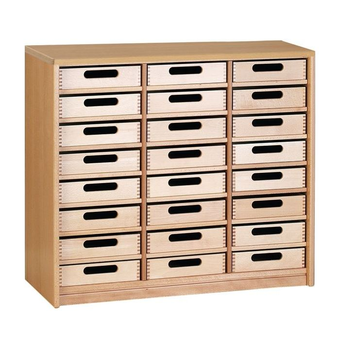 Forminant Property Cupboard with 24 Boxes by HABA