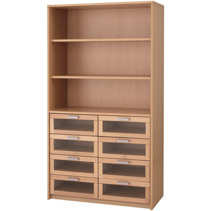 Forminant High Cabinet with Acrylic Drawers by HABA