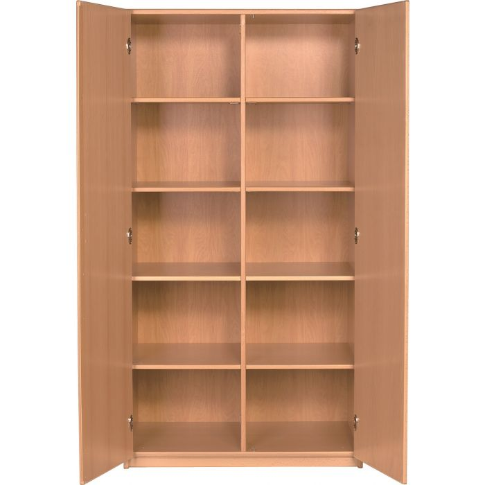 Forminant Materials Cabinet with 8 shelves and center divider by HABA