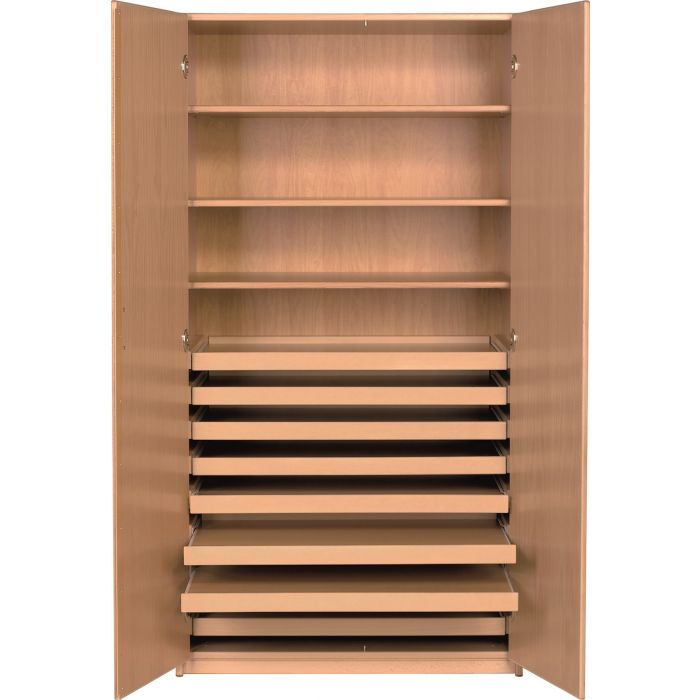 Forminant Cabinet for Maps and Puzzles 3 shelves