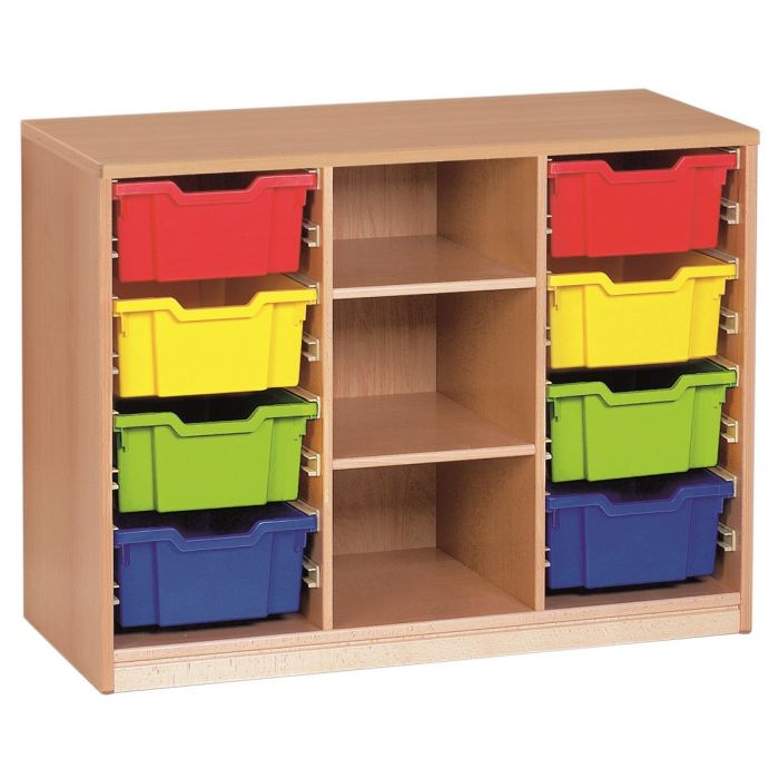 Forminant Material Cabinet with 4 sets of 8 rails by HABA