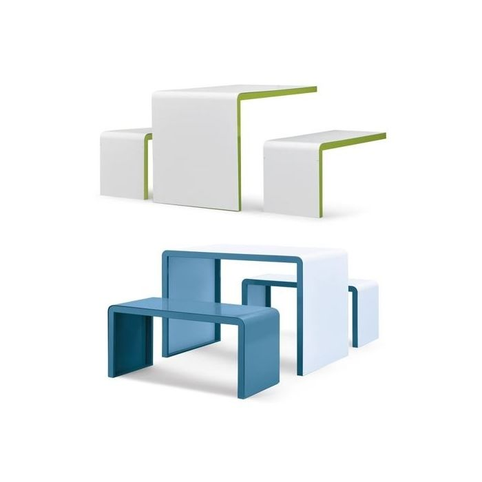 Set.upp Desks and Benches by HABA