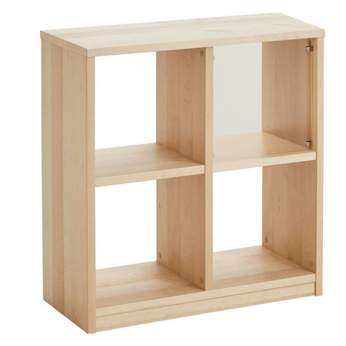 Room Divider Shelf w/4 Cubbies by HABA, 559230*