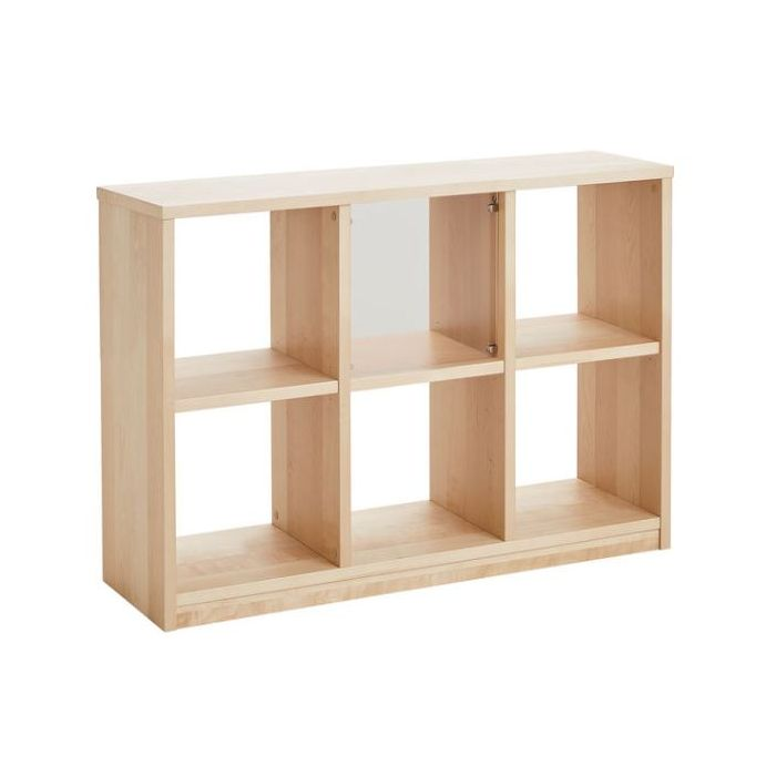 Room Divider Shelf w/6 Cubbies, Low by HABA, 559231*
