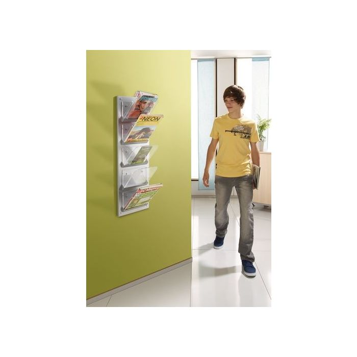 Wall-Mounted Magazine Rack HABA