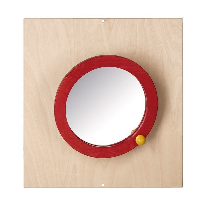 Swiveling Mirror Sensory Wall Activity Panel by HABA