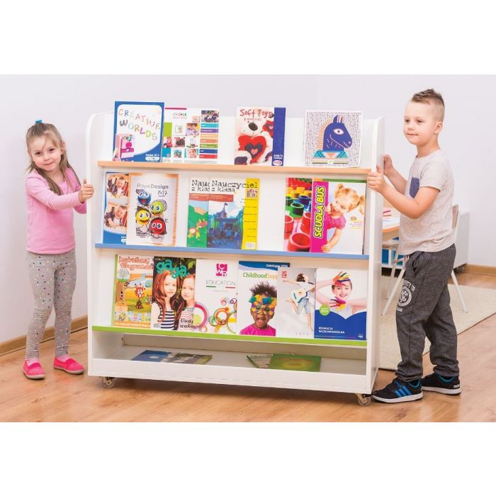 Mobile Book Display Center by Gressco, 6512414