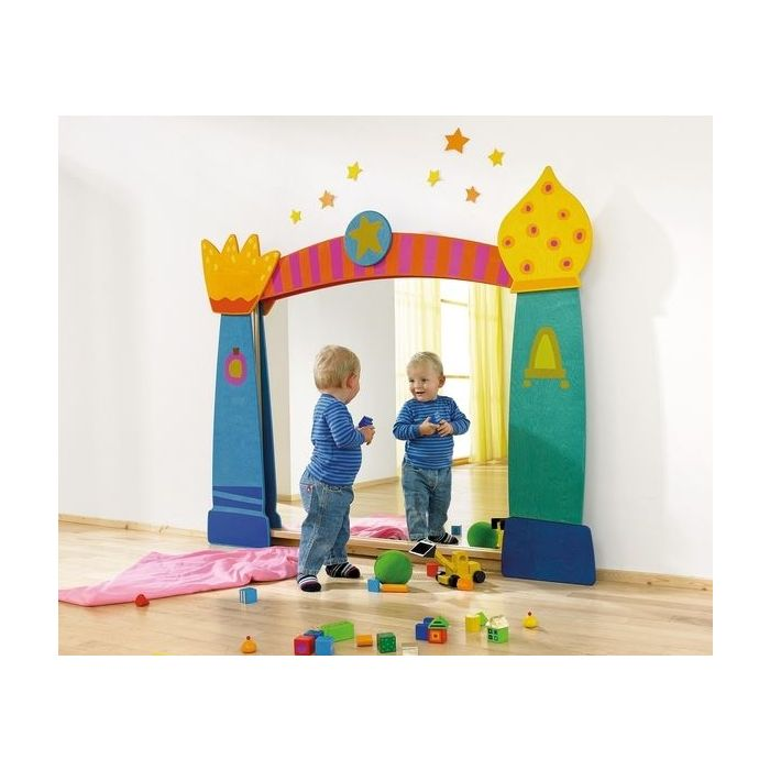 Fun House 3 Children's Mirror Frame by HABA